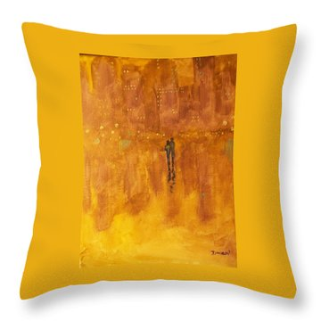 Time And Again #2 Throw Pillow by Raymond Doward