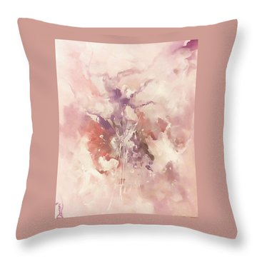 Time And Again Throw Pillow by Raymond Doward