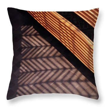 Time And Materials Throw Pillow by Rona Black