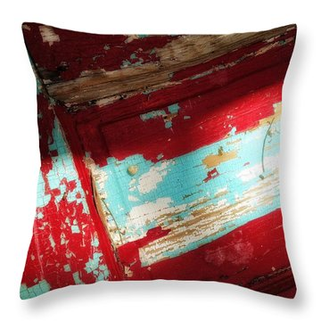 Throw Pillow featuring the photograph Time At The Door by Olivier Calas