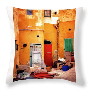 Time Bubble Throw Pillow