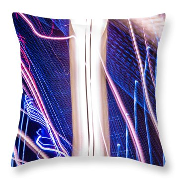 Time Dilation  Throw Pillow by Micah Goff