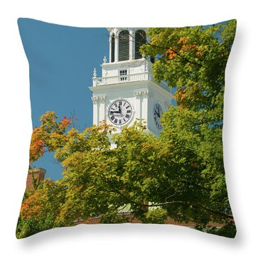 Time For Autumn Throw Pillow