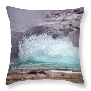 Time For Grand Throw Pillow