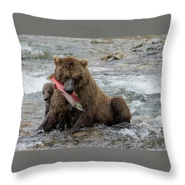 Time For Lunch Throw Pillow