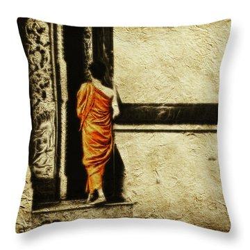 Time For Prayer Throw Pillow