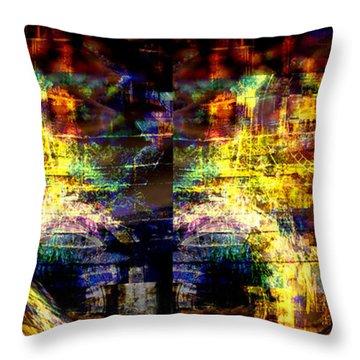 Time Frame Throw Pillow