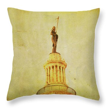Time Honored Throw Pillow