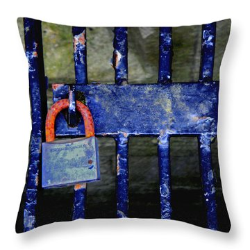Time Hues Throw Pillow