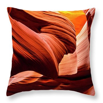 Time Immemorial Throw Pillow
