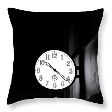 Time Is Slipping Away Throw Pillow