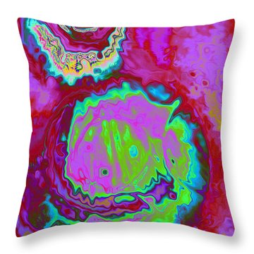 Time Slip Throw Pillow