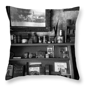 Time Standing Still Throw Pillow by David Lee Thompson