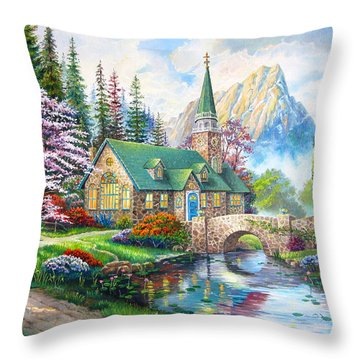 Time To Come Home Throw Pillow by Karen Showell