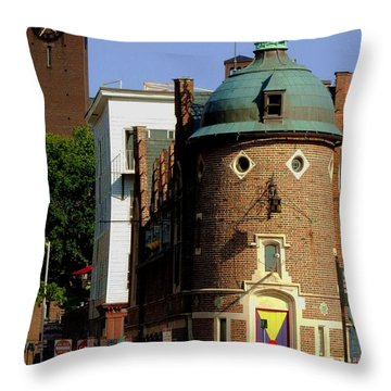 Time To Face The Harvard Lampoon Throw Pillow