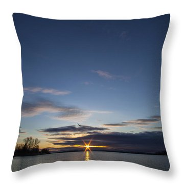 Time To Get Up Throw Pillow