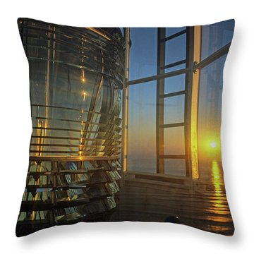 Time To Go To Work Throw Pillow