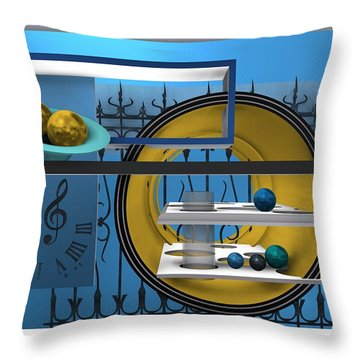 Time To Night Song Throw Pillow