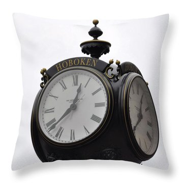 Time To Remember Throw Pillow by JAMART Photography