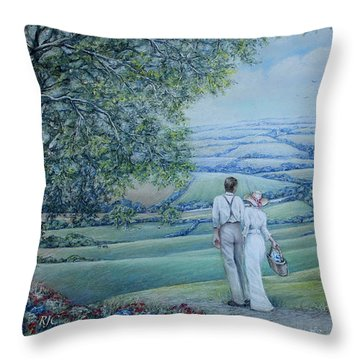Time To Remember Throw Pillow