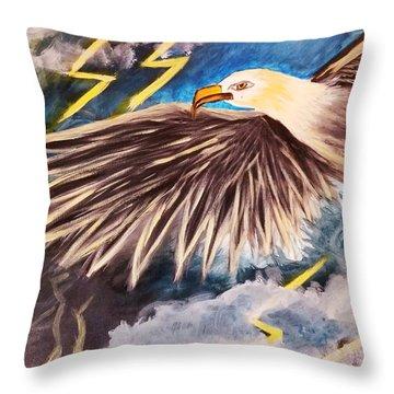 Time To Take Flight  Throw Pillow