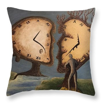 Time Travel 2016 Throw Pillow by Steve  Hester