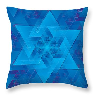 Time Travel Simplified Throw Pillow
