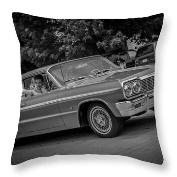 Throw Pillow featuring the photograph Time Traveler by Ray Congrove