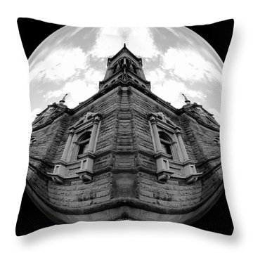 Time Two Throw Pillow