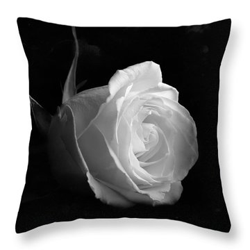 Timeless Beauty Throw Pillow by Roy McPeak