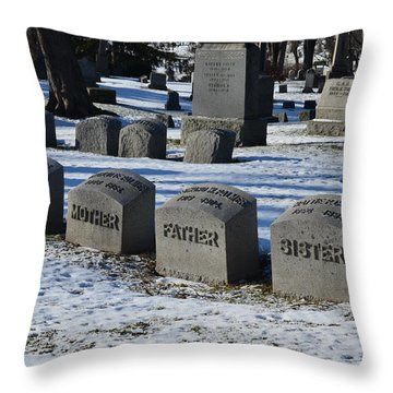 Timeless Family Throw Pillow
