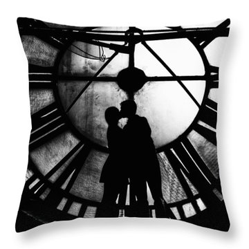Timeless Love - Black And White Throw Pillow