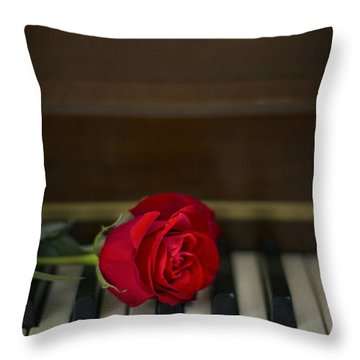 Timeless Melody Throw Pillow