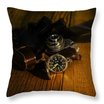 Timeless Photography Throw Pillow by Cesare Bargiggia