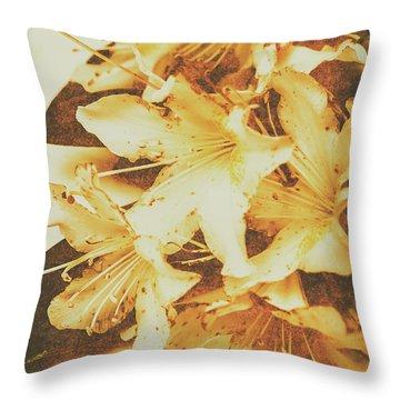 Timeless Romance Throw Pillow