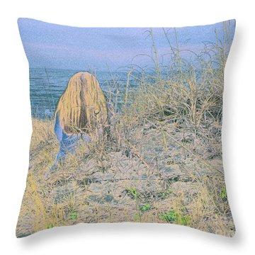 Timeless Sands Throw Pillow