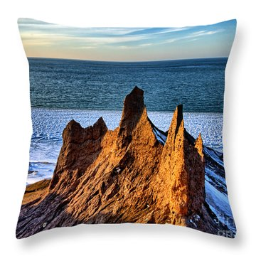 Timeless Spires Throw Pillow