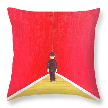 Timeout Throw Pillow