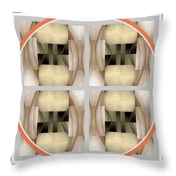 Times Four Throw Pillow