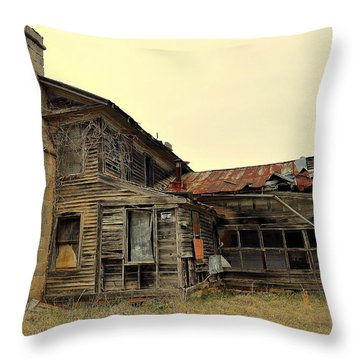 Times Past 2 Throw Pillow by Marty Koch