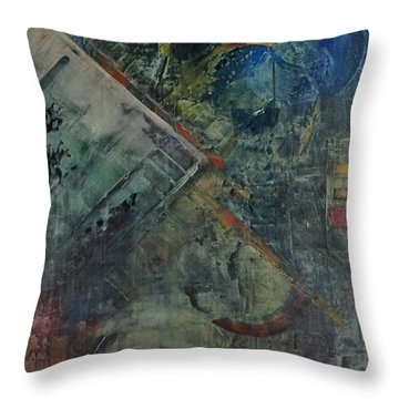 Timethief Throw Pillow
