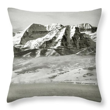 Timp Above Deer Creek Throw Pillow