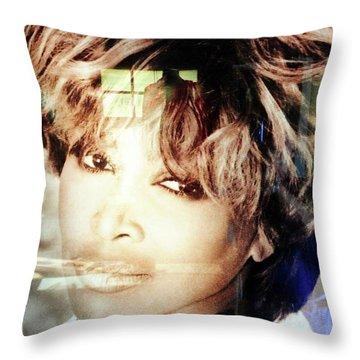 Tina Turner Museum 2 Throw Pillow