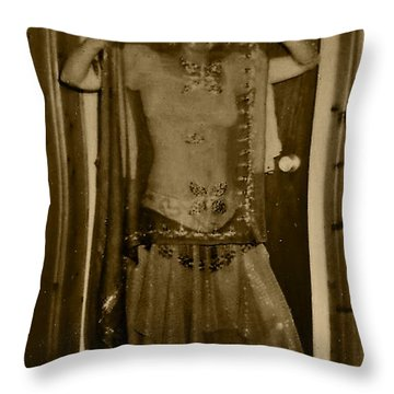 Throw Pillow featuring the photograph Tiny Dancer by Denise Fulmer