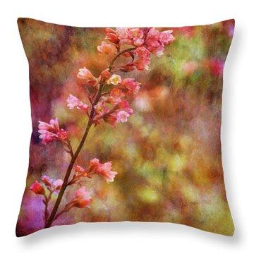 Tiny Gems 1345 Idp_2 Throw Pillow