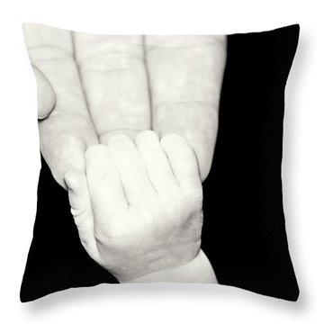 Tiny Grip Throw Pillow