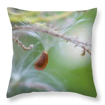 Tiny Seed Throw Pillow