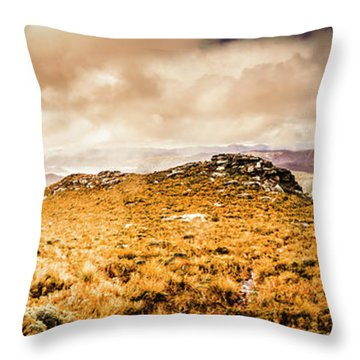 Tip Top Australia Throw Pillow