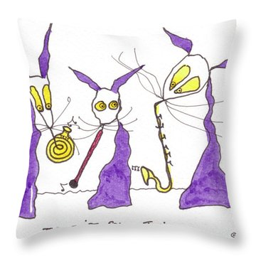 Tis First Solo Tonight Throw Pillow by Tis Art
