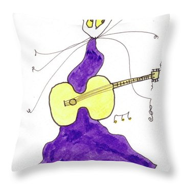 Tis Swinger Throw Pillow by Tis Art